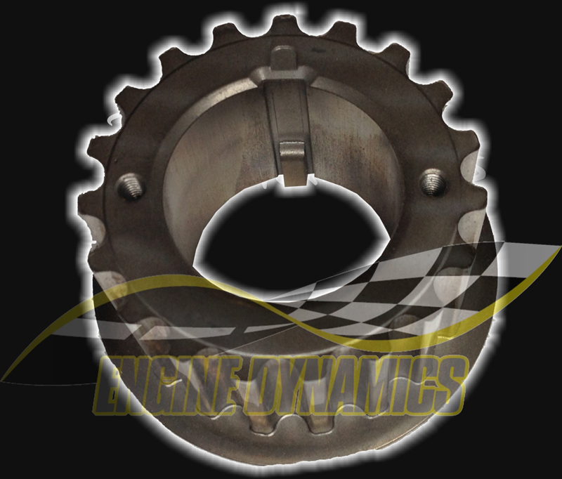 Crankshaft Toothed Bottom Pulley with Integrated Key