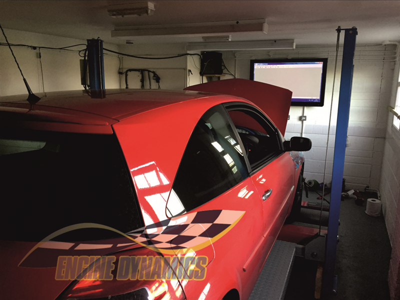 Dyno (Rolling Road) Power Testing with Enhanced Data Logging