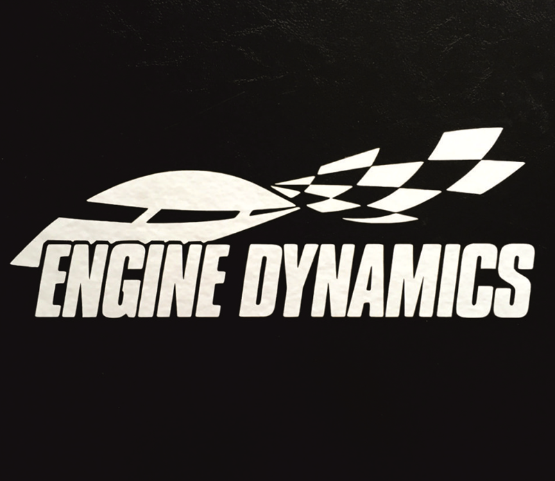 Engine Dynamics Vinyl Sticker 170mm