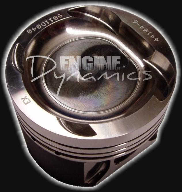 Lancia Delta Integrale 2.0 16v Turbo Forged Piston Set 8.0:1